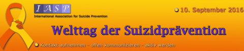 Welttag Suizidprävention